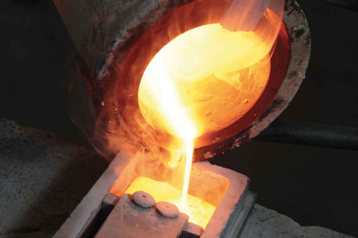 تولید ورق طلا