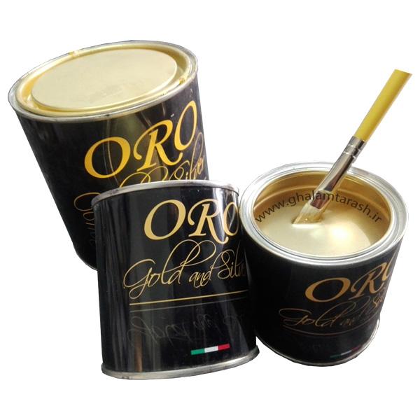 ورق طلا مایع ایتالیایی oro